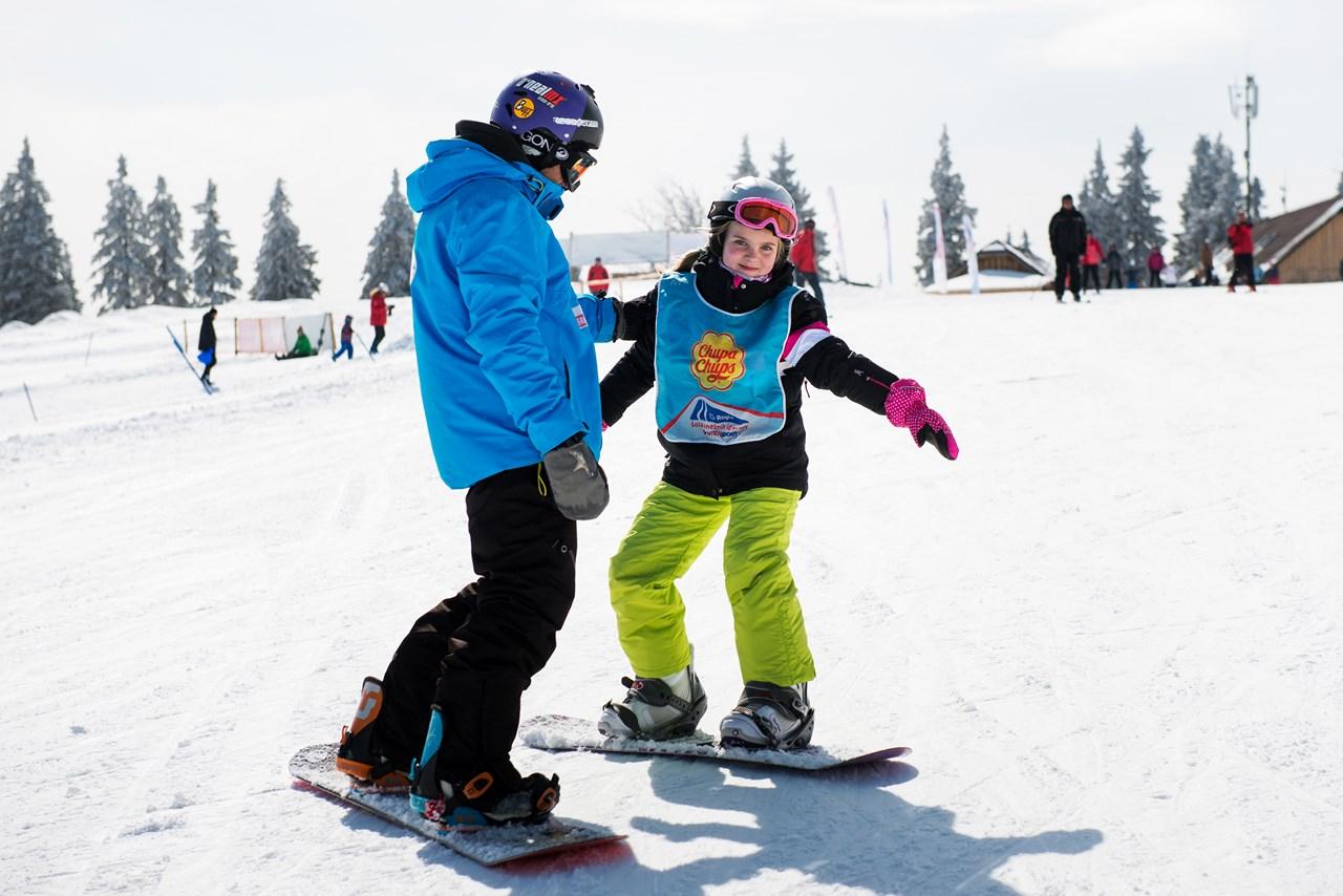 deskanje na snegu individualni program